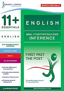 11+ Essentials - English Mini Comprehensions: Inference Book 2 (First Past the Post®)