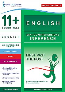11+ Essentials - English Mini Comprehensions: Inference Book 3 (First Past the Post®)
