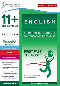 11+ Essentials - Comprehensions Contemporary Literature Book 1 (First Past the Post®) Standard Format