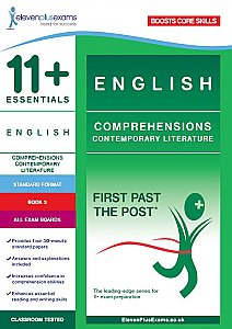 11+ Essentials - Comprehensions Contemporary Literature Book 3 (First Past the Post®) Standard Format
