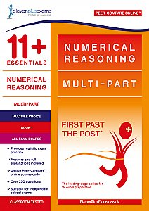 11+ Essentials - Numerical Reasoning: Multi-part Book 1 Multiple Choice (First Past the Post®)
