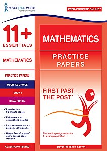 Eleven Plus Exams GL Maths Practice Papers (Multiple Choice) Book 1 (First Past the Post®)