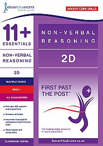 11+ Essentials - 2-D Non-verbal Reasoning Book 1 (First Past the Post®)