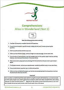 11+ Essentials - Comprehensions Classic Literature Book 1 (First Past the Post®)