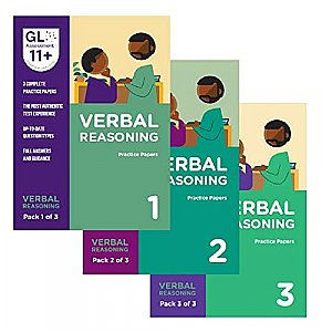 GL Assessment 11+ Practice Papers Bundle of Verbal Reasoning (3 packs)