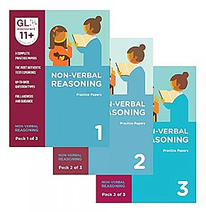 GL Assessment 11+ Practice Papers Bundle of Non Verbal Reasoning (3 packs)