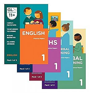 GL Assessment 11+ Practice Papers Bundle of All Packs (12 Packs)